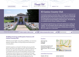elcamino country club wedding venue
