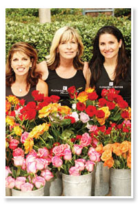 three owners of Flowers Forever
